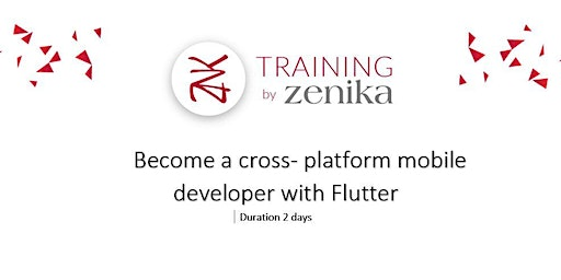 Flutter workshop : Become a cross- platform mobile developer with Flutter-  2 days ENG