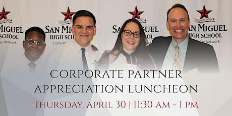 Corporate Partner Appreciation Luncheon tickets