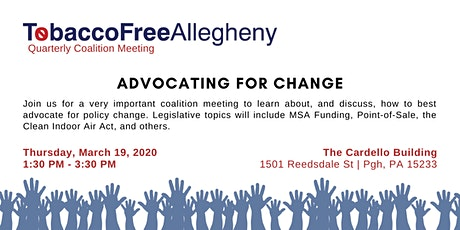 Advocating for Change tickets