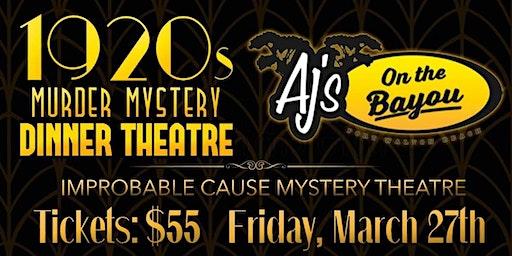 1920's Speakeasy Murder Mystery Dinner Theatre