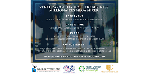 Ventura County Holistic Business Millionaires Mega Mixer