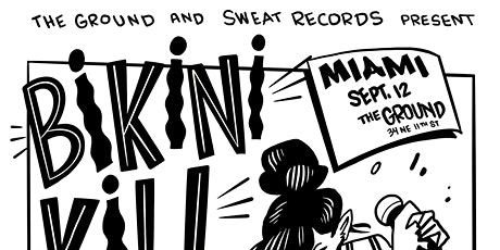 Bikini Kill at The Ground [POSTPONED] Friday November 5, 2021 tickets