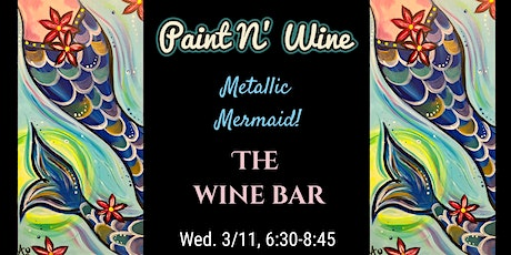 Paint N' Wine at The Wine Bar tickets