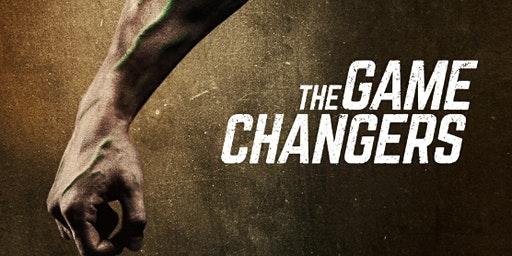 The Game Changers Screening with plant based meal for £2.50!   Saturday 04th April 2020@ 6pm -  Llanidloes Function Room