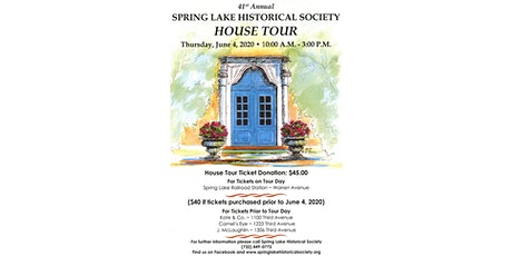 Spring Lake Historical Society HOUSE TOUR tickets