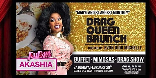 "SADBrunch presents ""Black Girl Magic"" feat Akashia from RuPaul's Drag Race"