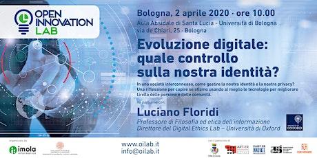 Evoluzione digitale: quale controllo sulla nostra identità? biglietti