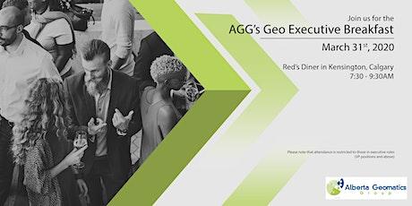 AGG's GeoExecutives' Breakfast tickets