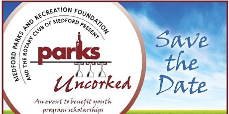 2020 Parks Uncorked tickets