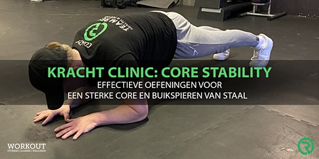 Kracht clinic: core stability tickets