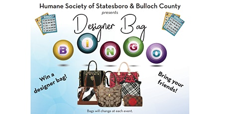 Designer Bag Bingo - March 2020 tickets