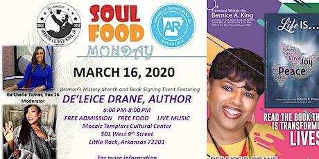2020 Soul Food Monday Coretta Scott King Women's History Month's Observance tickets