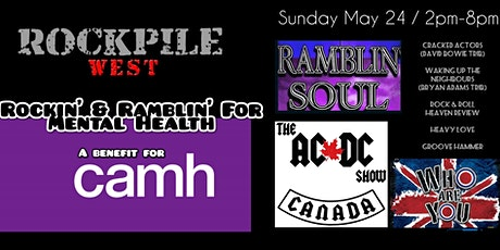 Rockin' and Ramblin' for Mental Health at The Rockpile May 24 tickets