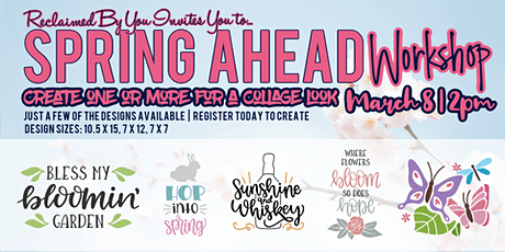 Spring Ahead Workshop tickets