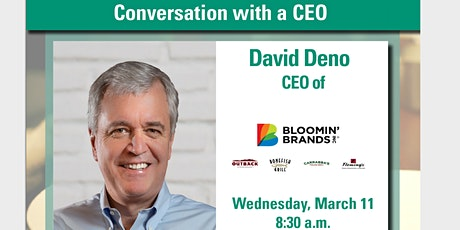 Conversation with a CEO: David Deno tickets