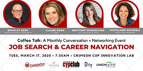 Coffee Talk: Job Search & Career Navigation Tips tickets