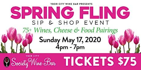 Ybor City Wine Bar: 2020 Spring Fling - Sip & Shop Event tickets