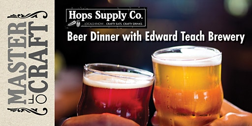 Cape Fear Craft Beer Dinner with Edward Teach Brewery