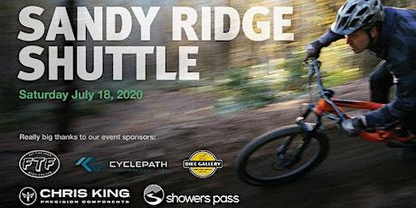 2020 Sandy Ridge Shuttle tickets
