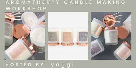 Aromatherapy Candle Making Workshop, 7pm, 24th March, The Sustainable Pop-up, Chelsea tickets