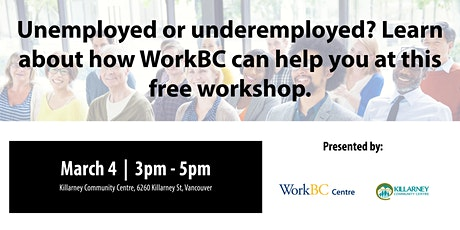 What is WorkBC? A Free Workshop tickets