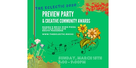 The Eclectic Preview Party & Creative Community Awards 2020 tickets