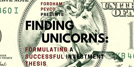 Finding Unicorns: Formulating a Successful Investment Thesis tickets