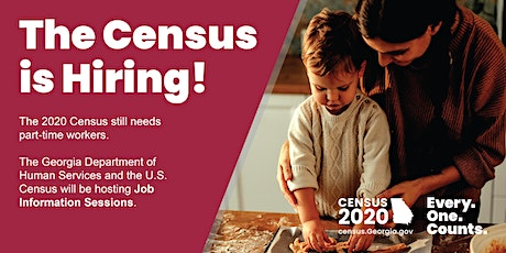 Census Job Info Session: Habersham County tickets