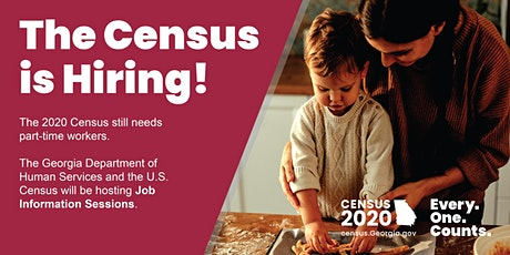 Census Job Info Session: Chattooga County tickets