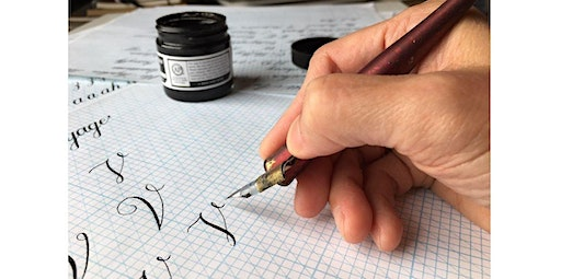 Copperplate Calligraphy for Beginners (02-27-2020 starts at 6:00 PM)