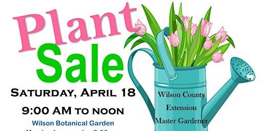 Wilson Extension Master Gardener Annual Spring Plant Sale