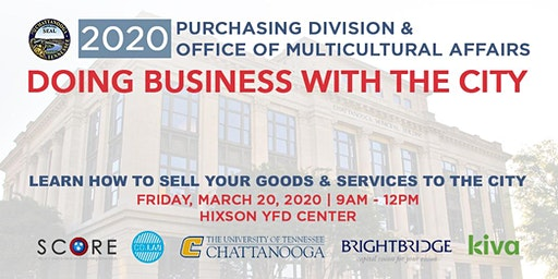 "Spring 2020 ""Doing Business with the City"" Event"