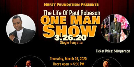 One Man Show: The Life Of Paul Robeson tickets