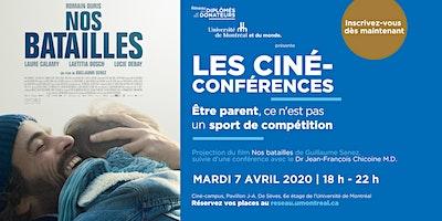 LES CINÉ-CONFÉRENCES  | Avec Dr Jean-François Chicoine