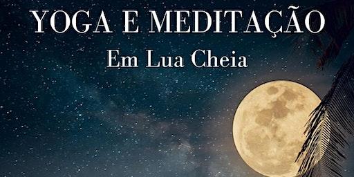 Oficina de Yoga e Meditação em Lua Cheia