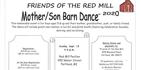 Mother/Son Barn Dance - 3rd Annual tickets