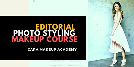 Editorial Photo Styling Makeup Course tickets