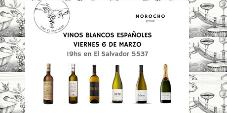 Cata de Vinos Blancos Españoles entradas