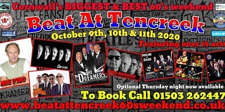 Beat At Tencreek 60's Weekend 2020 tickets