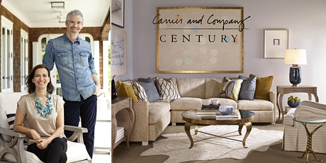 Creating Positively Chic Interiors with Carrier and Company  tickets