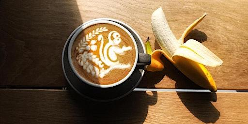 Latte Art  Workshop at Oxford School of Coffee