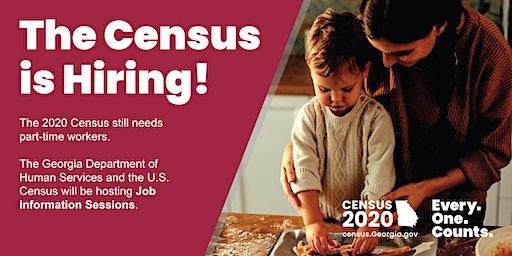 Census Job Info Session: Hall County