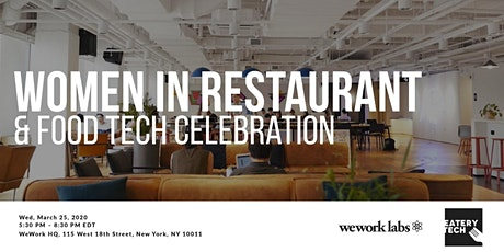Women in Restaurant & Food Tech Celebration tickets
