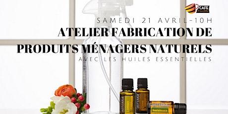 Atelier Fabrication de Produits Ménagers Naturels billets