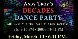 Decades Dance Party at 230 Fifth, Free Admission (Front Elevators)