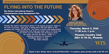 Sky Harbor International Airport's Comprehensive Asset Management Plan tickets