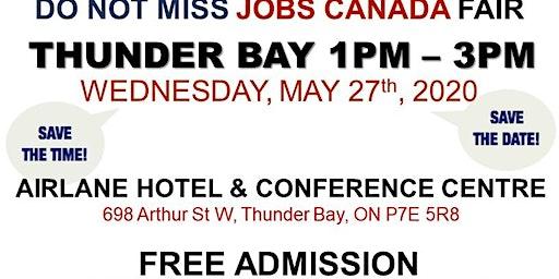 Thunder Bay Job Fair - May 27th, 2020