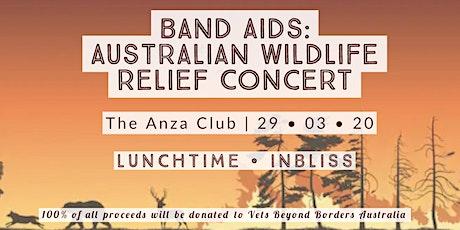 Band Aids: Australian Wildlife Relief Concert tickets