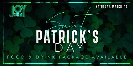 St Patty's Afternoon At Joy District tickets