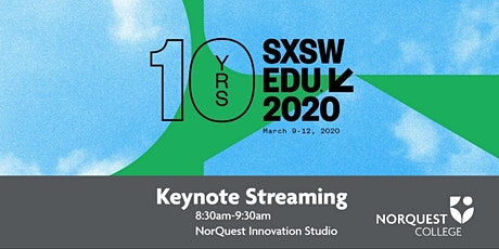 SXSW EDU - Keynote Streaming tickets
